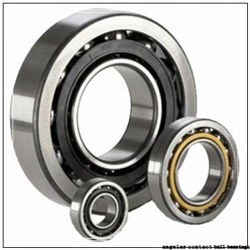 190 mm x 340 mm x 55 mm  NSK QJ 238 angular contact ball bearings