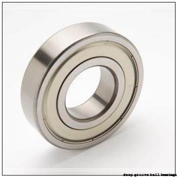 20 mm x 42 mm x 12 mm  ISO 6004-2RS deep groove ball bearings