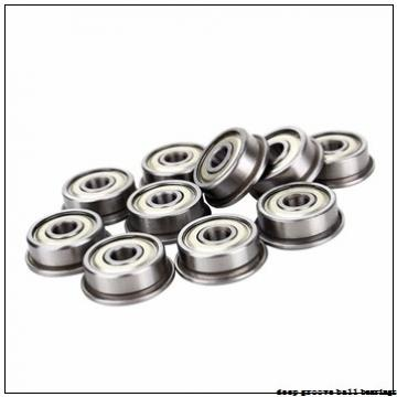 8 mm x 14 mm x 4 mm  ISO MR148ZZ deep groove ball bearings