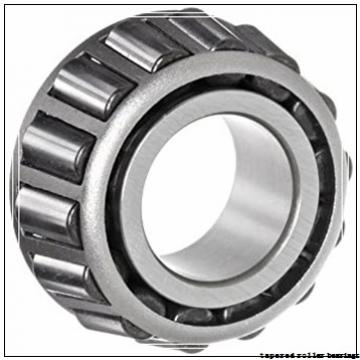 75 mm x 120,65 mm x 29 mm  Gamet 123075/123120XC tapered roller bearings