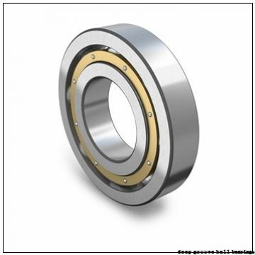 30 mm x 55 mm x 9 mm  FBJ 16006 deep groove ball bearings