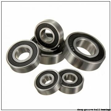 80 mm x 125 mm x 22 mm  ISB 6016 N deep groove ball bearings