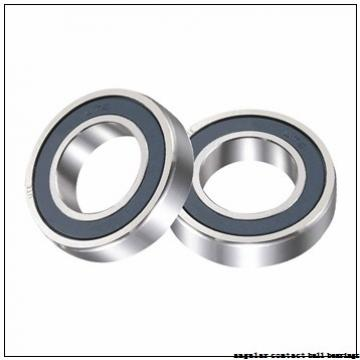 43 mm x 82 mm x 37 mm  PFI PW43/45820037CS angular contact ball bearings