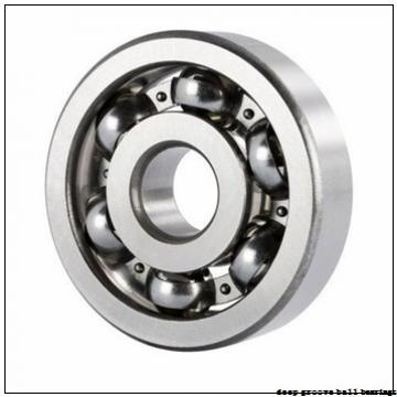 34,925 mm x 63,5 mm x 11,113 mm  ZEN R22 deep groove ball bearings