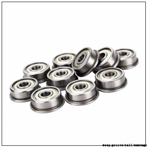 75 mm x 115 mm x 20 mm  NKE 6015 deep groove ball bearings #1 image