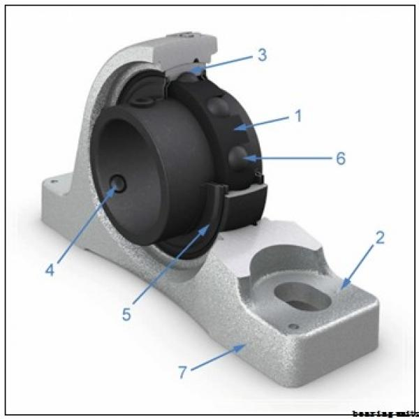 NACHI UCPK212 bearing units #2 image