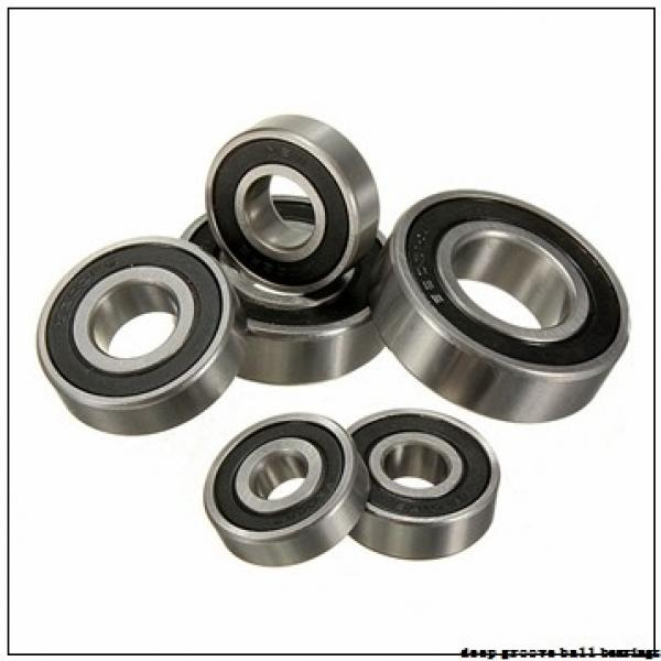 65 mm x 100 mm x 18 mm  KOYO 6013-2RU deep groove ball bearings #3 image