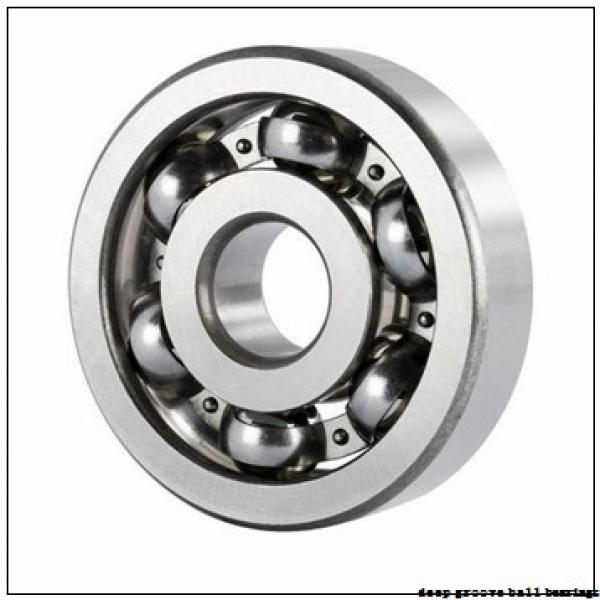75 mm x 115 mm x 20 mm  NKE 6015 deep groove ball bearings #2 image